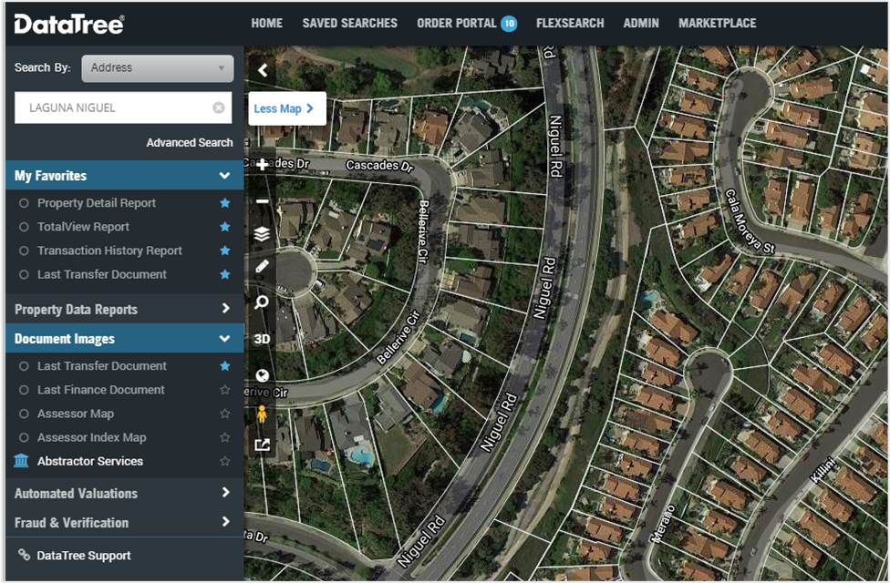 map-view-with-parcels-enabled